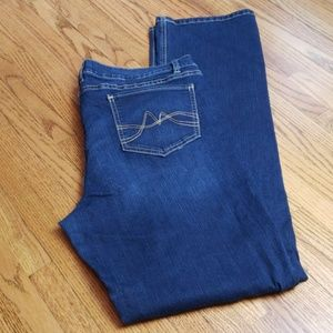 New York and Co Distressed Jean Sz 16